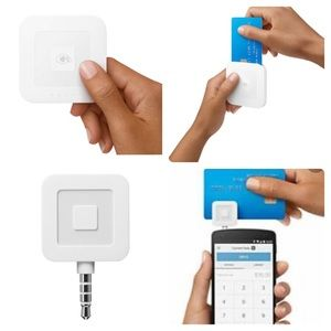 Square 2-in-1 Credit Card Readers (2pcs)